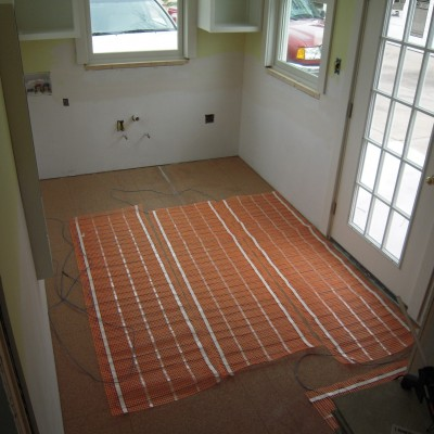 Warmwire Kit in Entryway