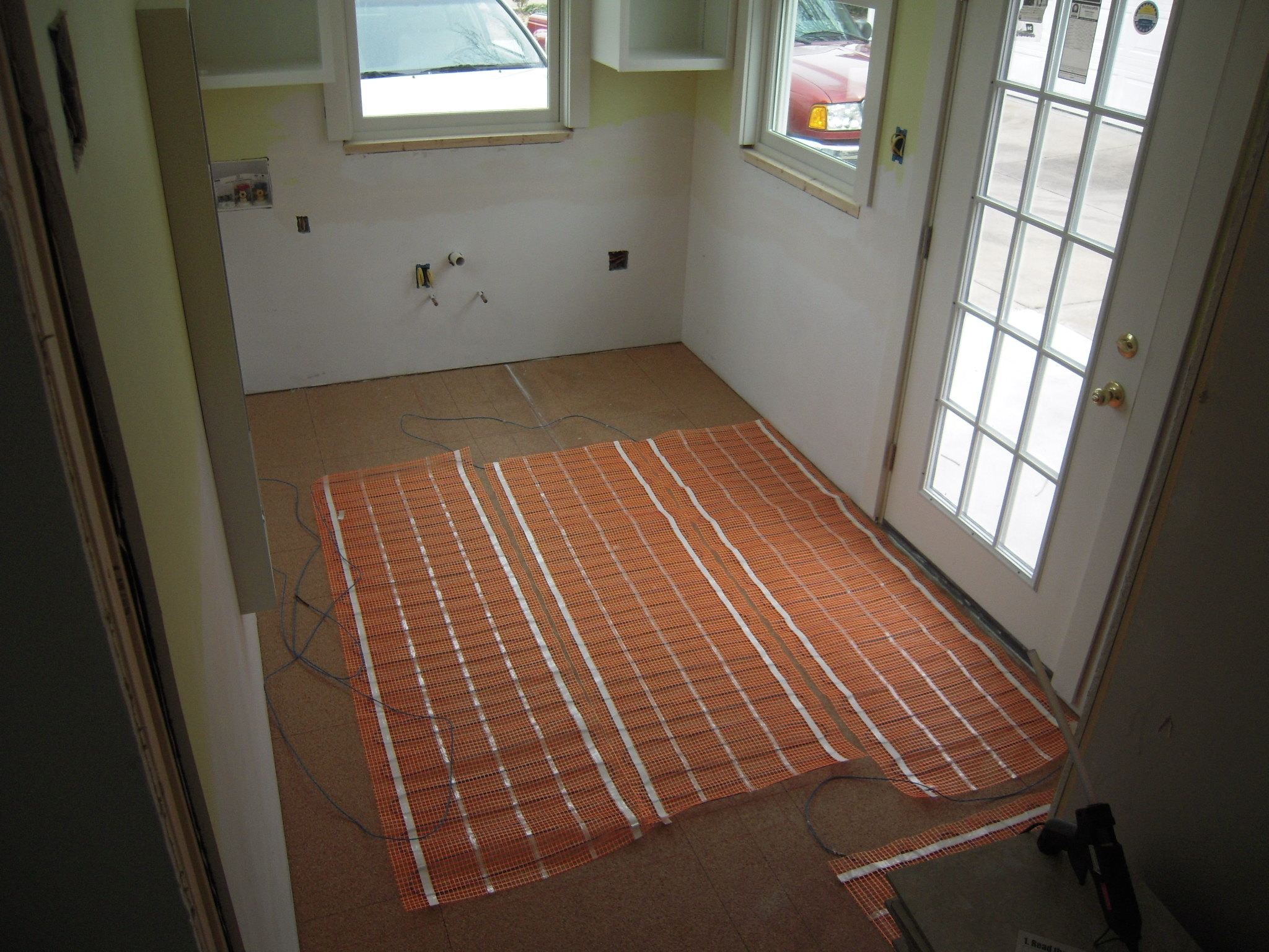 Foyer Mudroom Kits : Floor heating design inspiration westsidetile
