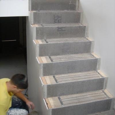 Warmwire on Steps