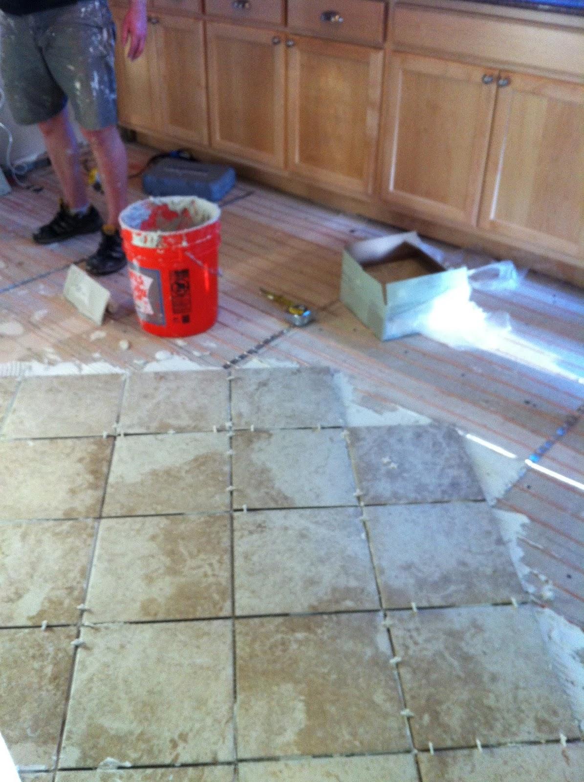 Flagstone Kitchen Floor Floor Heating Design Inspiration Westsidetilecom