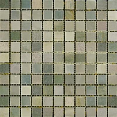 Moss Green Honed Buyi Mosaic