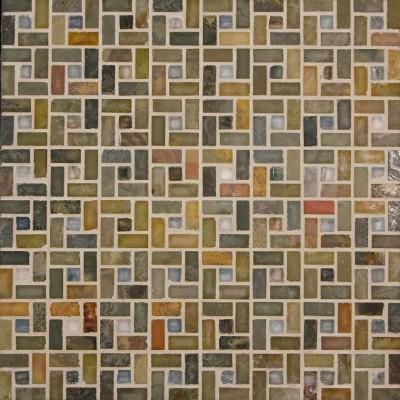 Earth & Zushi Spiral Mosaic
