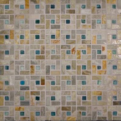 White Gold & Izu Spiral Mosaic