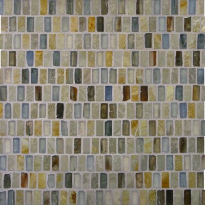 White Gold & Zushi Stacked Mosaic