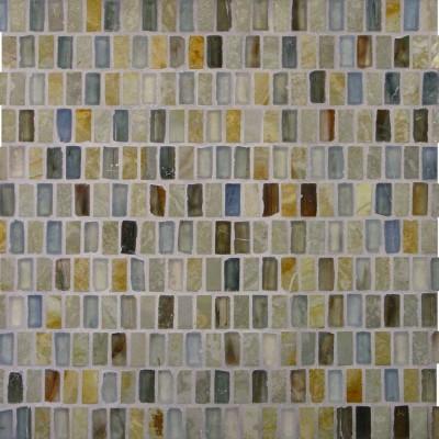 White Gold & Zushi Stacked Mosaic