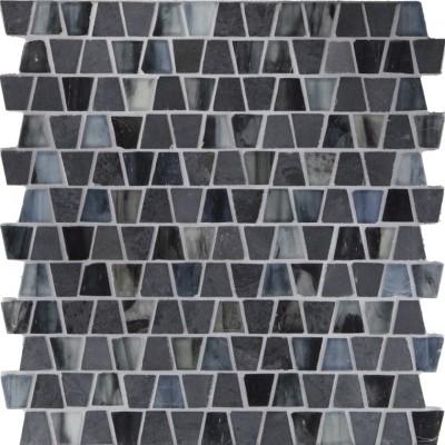 Black Gold & Argon Silk Wings Mosaic