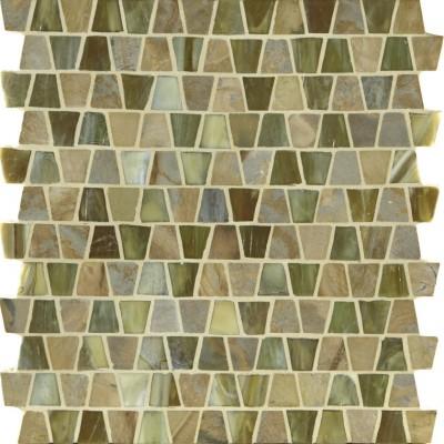 Prairie & Butterscotch Silk Wings Mosaic
