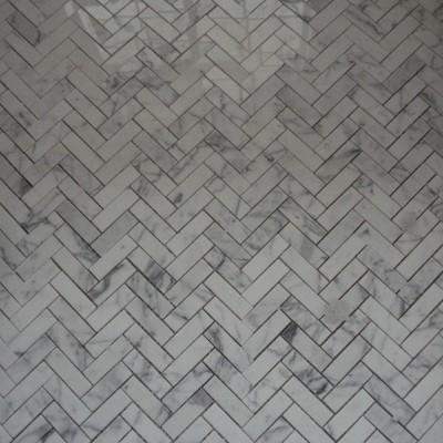 Carrara herringbone