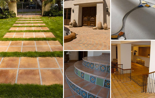 Concrete Tile Applications