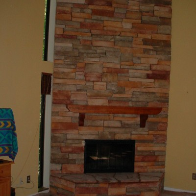 Coronado fireplace
