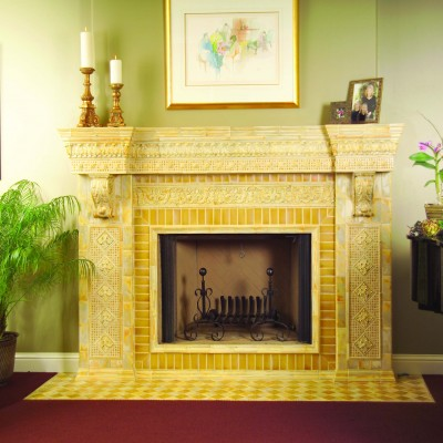 Encore ceramics fireplace