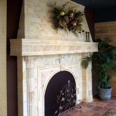 Encore ceramics fireplace