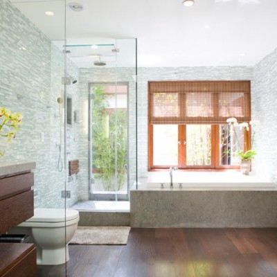 Full mosaic bathroom