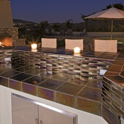 Elevations Extrados Tile BBQ