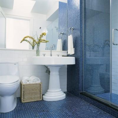 Tessera Cobalt Iridescent Shower