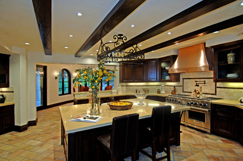 Mediterranean Kitchen by Santa Monica Interior Designer Joni Koenig Interiors