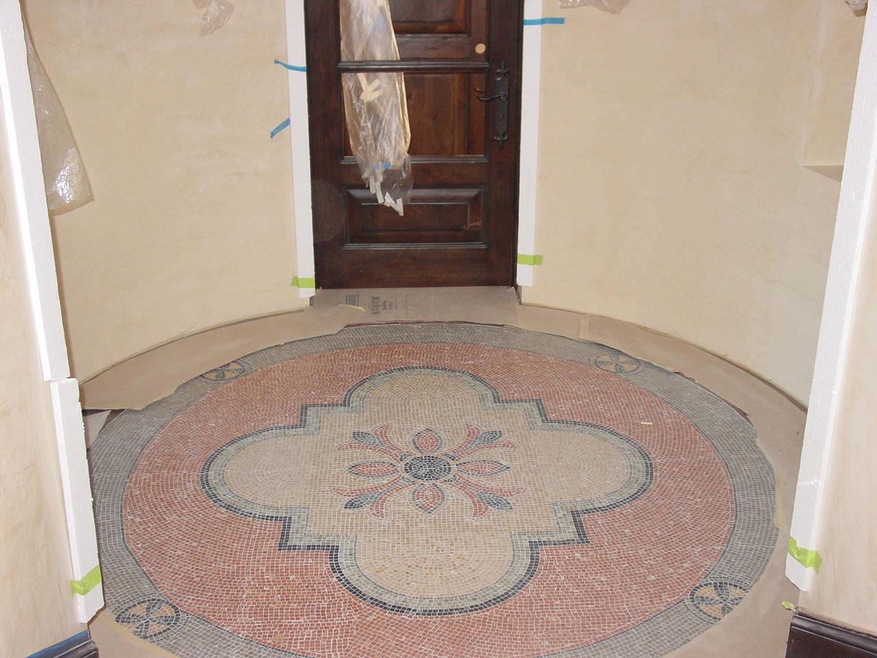 Floor tiles flooring tiles westside tile and stone mosaic medallion floor dailygadgetfo Gallery