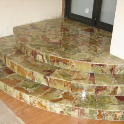 Multicolor onux floor