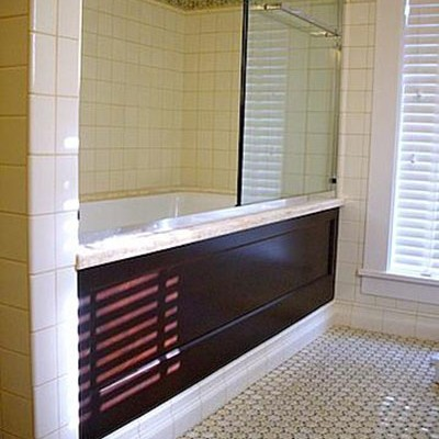 Onyx mosaic bathroom