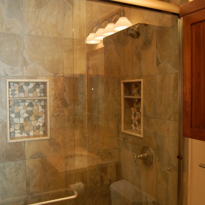 Porcelain tile riverstone