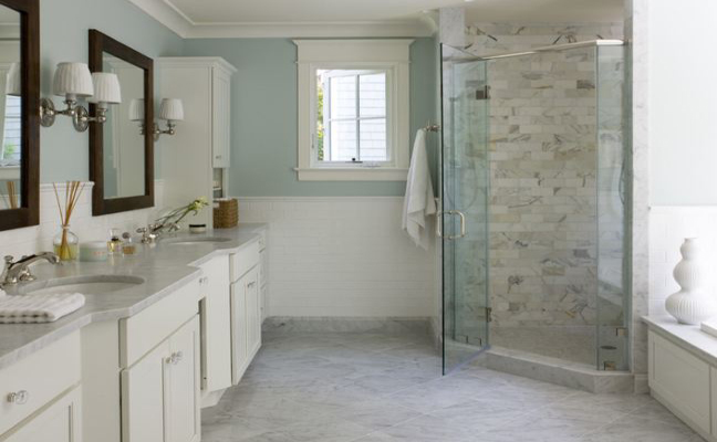 Marble Tiles. Carrara Marble Tiles Bathroom