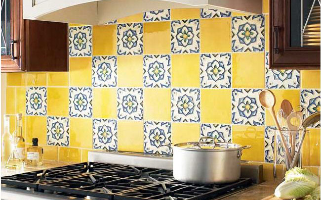 ceramic tiles backsplash