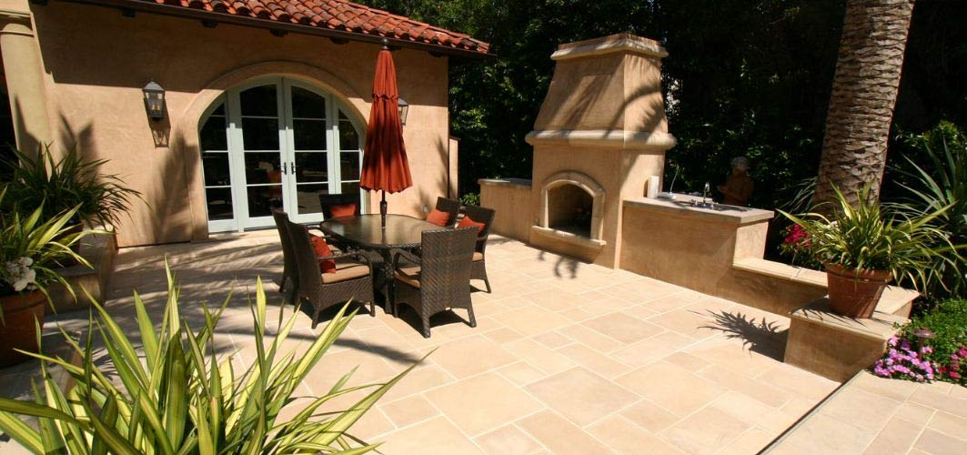 Concrete Tile Flooring For Outdoor Patios Westside Tile And Stone - Cement tiles for backyard