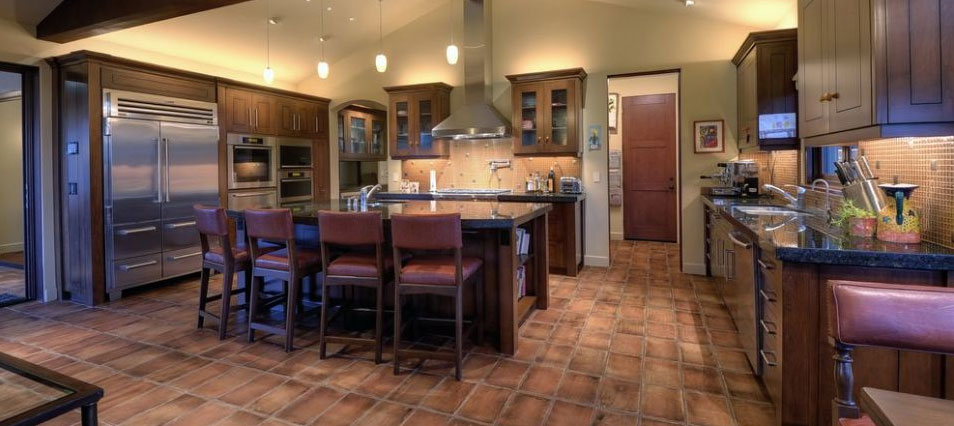 Saltillo Tile Kitchen Flooring