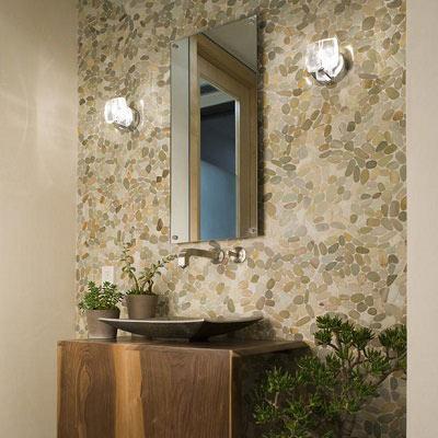 Pebble Bathroom Wall Tile