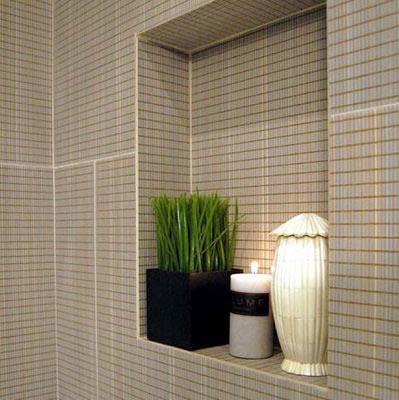 Porcelain Tile Bathroom Wall