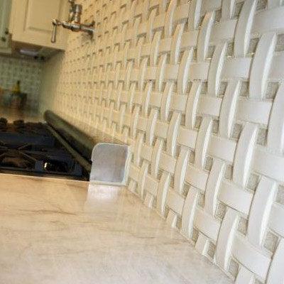 Ceramic Tile Backsplash. Porcelain Tile Kitchen Backsplash