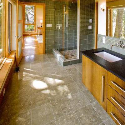 Limestone Kitchen Floor