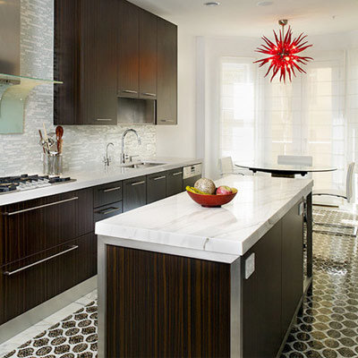 Mosaic Tile Kitchen FLoor