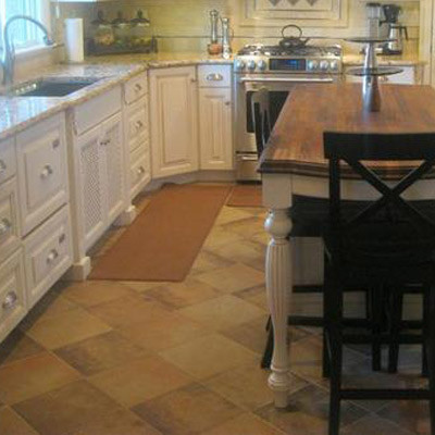 Sandstone Kitchen Floor