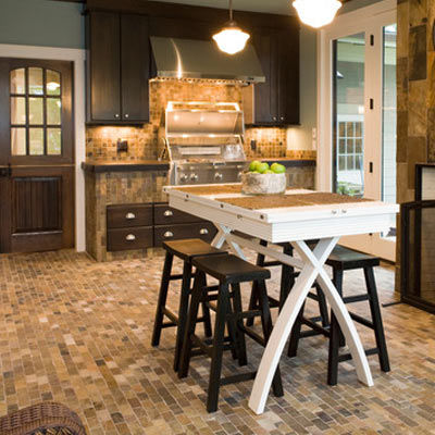Slate Kitchen Floor Tiles