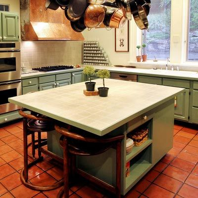 Porcelain Tile Countertops