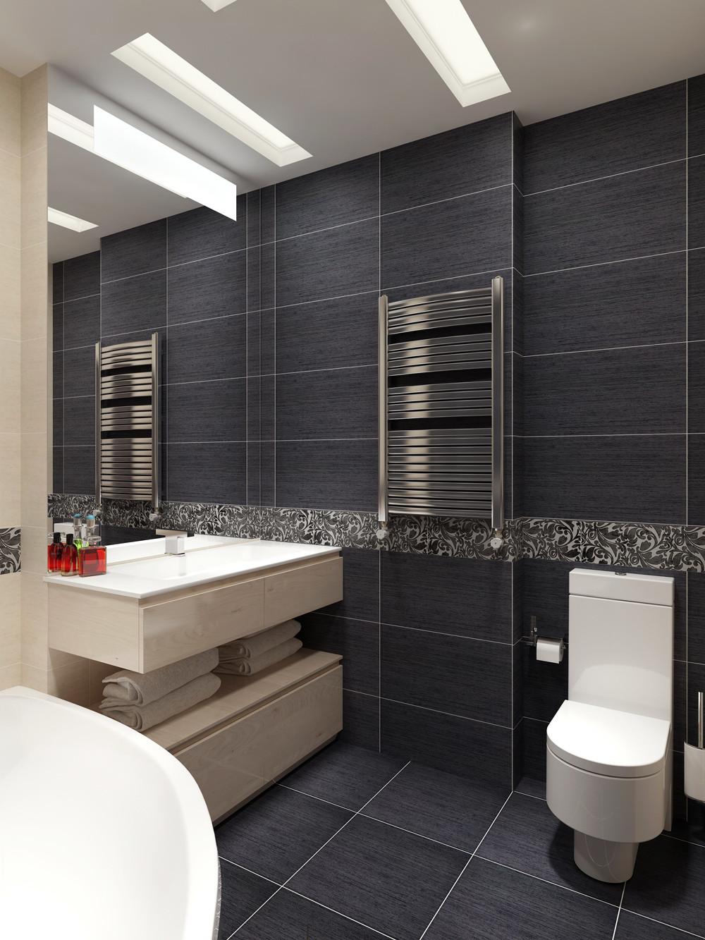 Matte Finish Bathroom Tiles