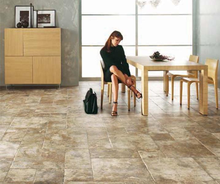Slate Multi Install design floor tile