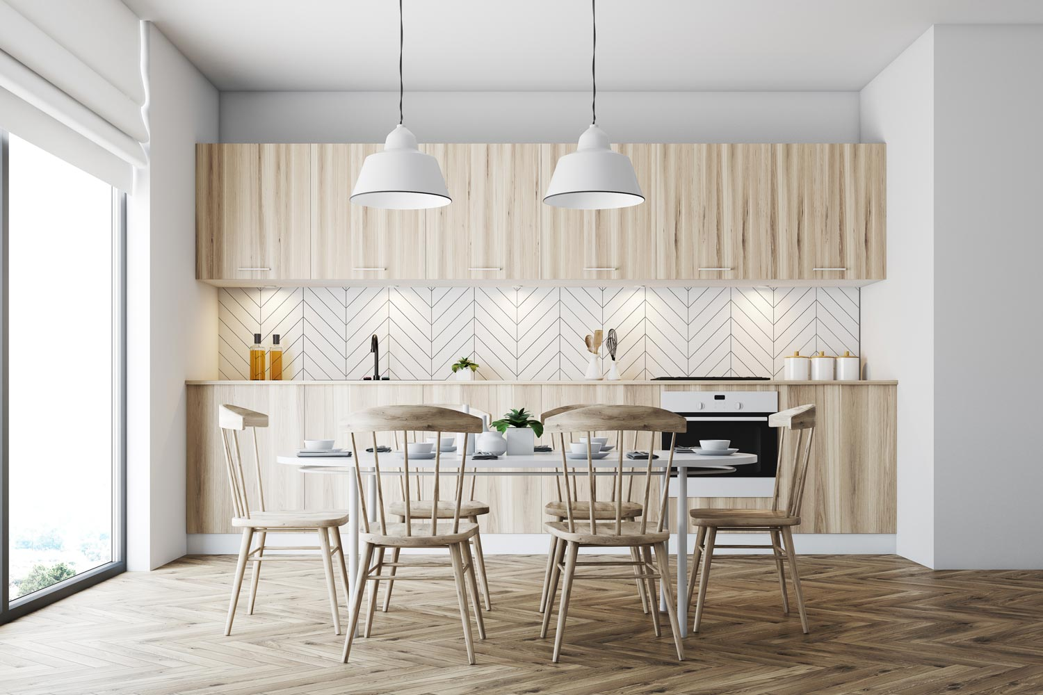 herringbone-tiles-kitchen-backsplash-ideas