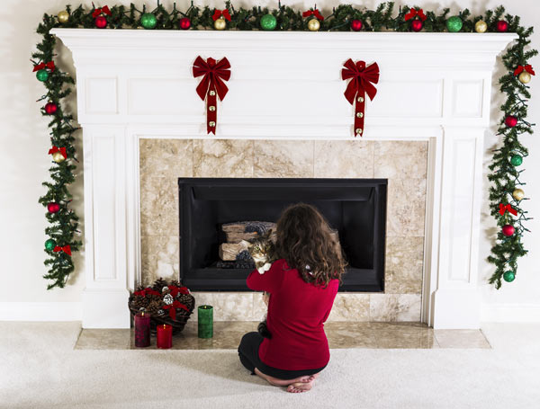 Fireplace Remodeling Ideas on Christmas