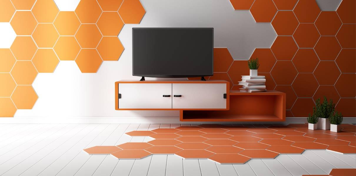 2020 Tile Trends Geometric Pattern