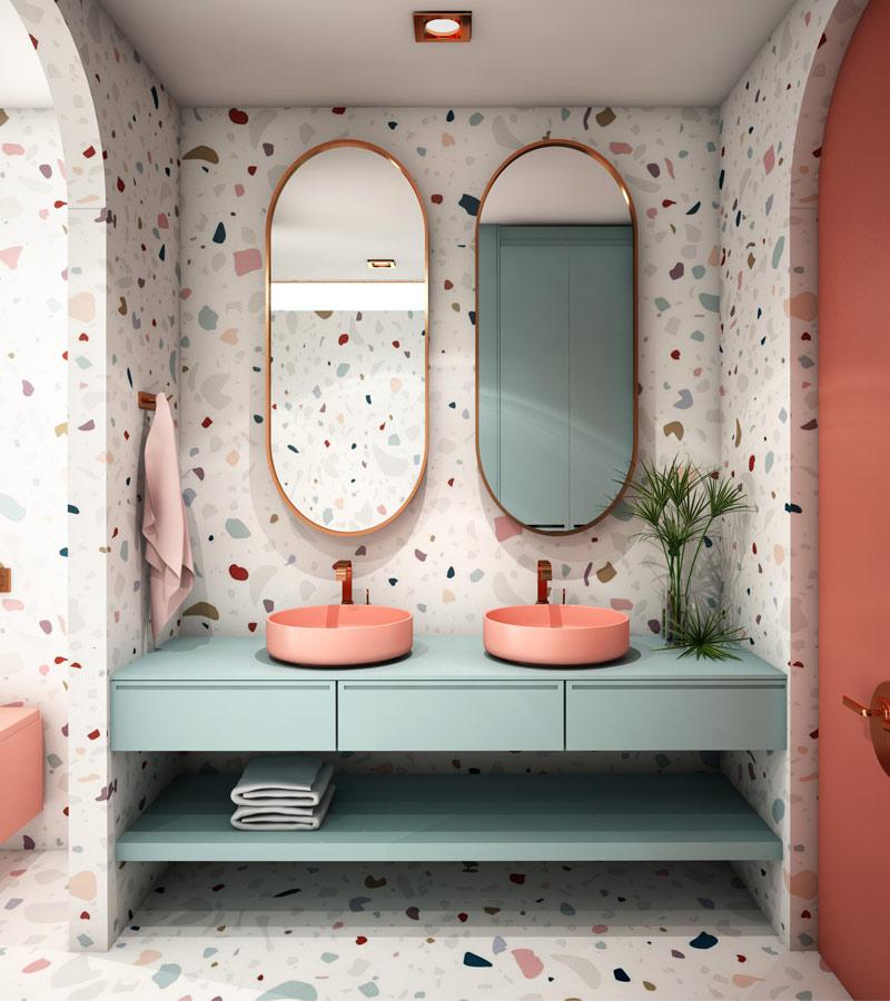 Speckled Tiles Trend 2020