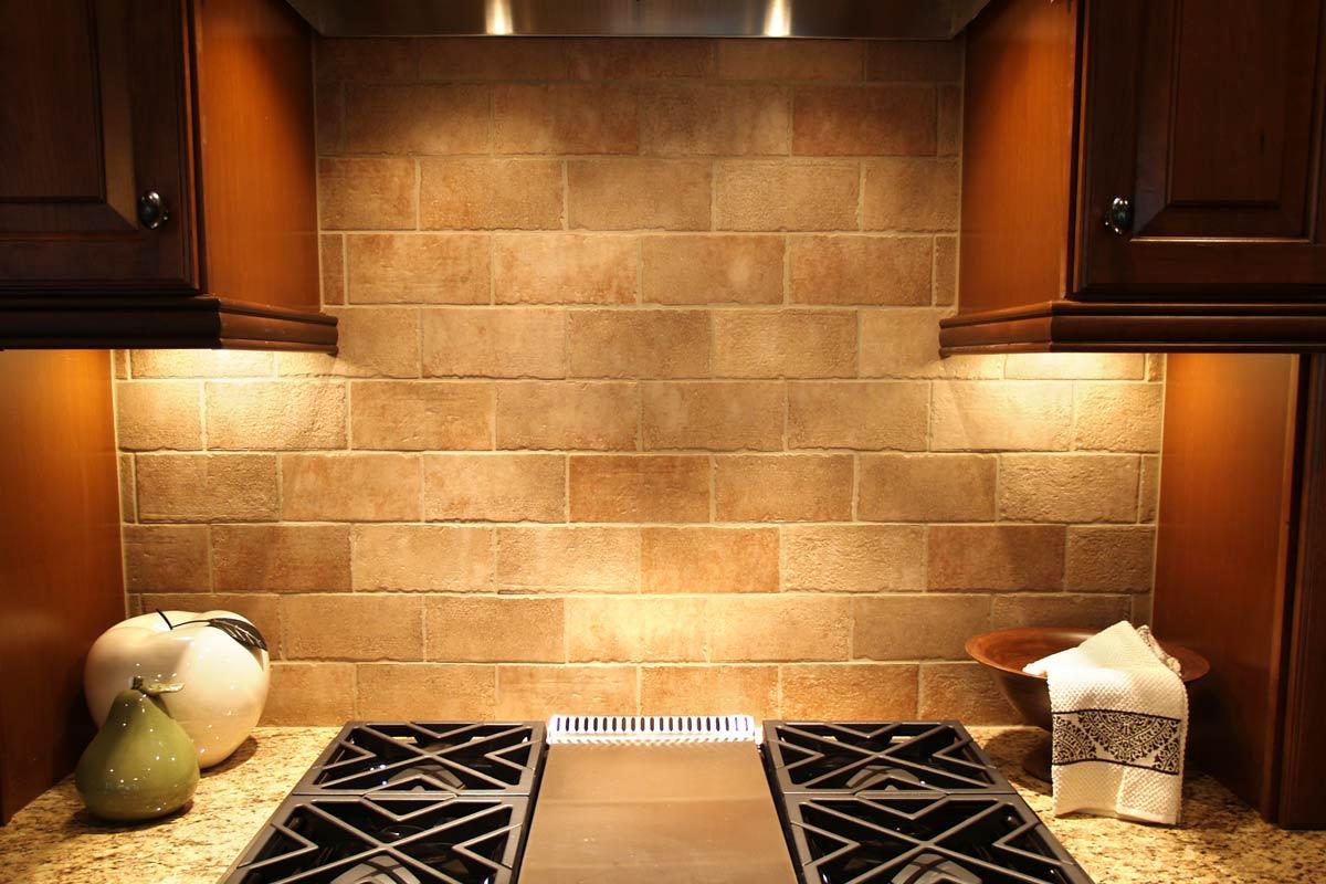 Kitchen Natural Tile Design Ideas