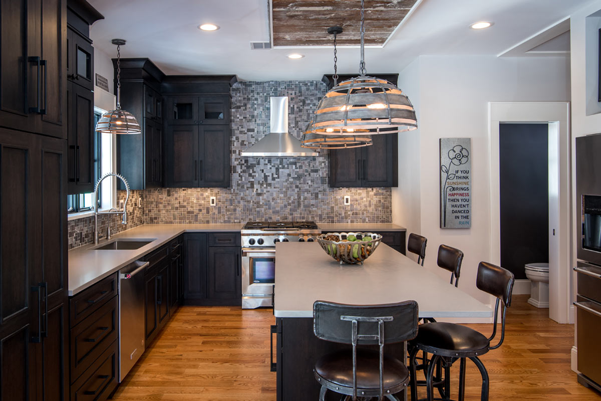 Wood-Looking Tile With Laminate Flooring