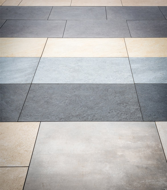 Moderne Ceramic Tile Flooring